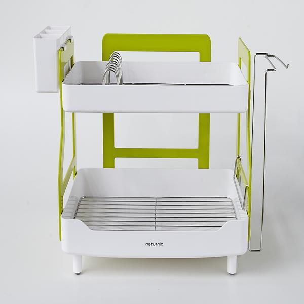 Two Tiered Dish Drainer